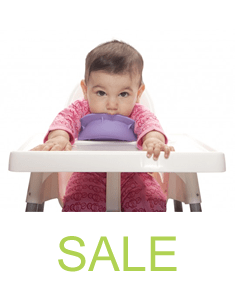 baby with oogaa bowl - sale